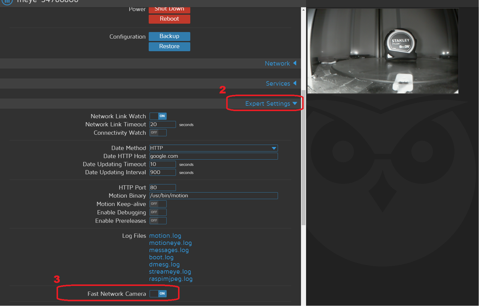 Suitable webcams for displaying progress in the webui? | Duet3D